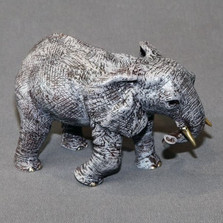 Elephant Mother Bronze Sculpture