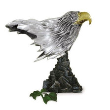 Eagle Head Silver Plated Sculpture | 2009