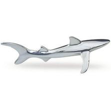 Shark Silver Plated Small Sculpture | A24