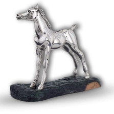 Arabian Pony Silver Plated Sculpture | A73