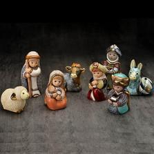 Ceramic Nativity Figurine 8 Piece Set | Rinconada