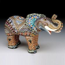 Elephant Mama Figurine