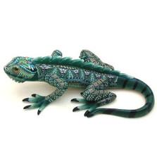 Iguana Mama Figurine | FimoCreations | FCFIM -2
