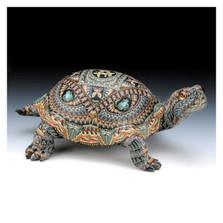 Turtle Papa Figurine