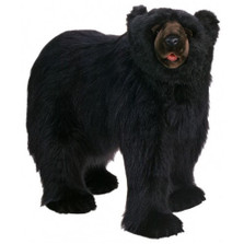 Black Bear Ride-On Stuffed Animal