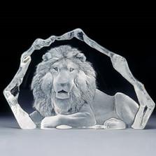 Lion Crystal LTD ED Sculpture   13305