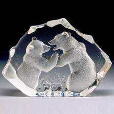 Bears LTD ED Crystal Sculpture | 13306