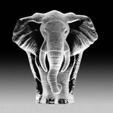 Elephant Crystal Sculpture | 33664