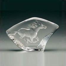 Horse Crystal Sculpture | 33715