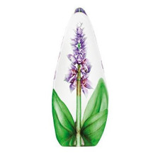 Purple Orchid Flower Crystal Sculpture | 33820