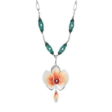 Moth Orchid Necklace  | Nature Jewelry