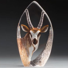 Antelope Crystal Sculpture | 33864
