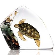 Sea Turtle Crystal Sculpture   33943