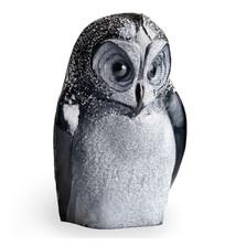 Owl Black Crystal Sculpture | 34050