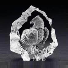 Mini Eagle Crystal Sculpture | 88124