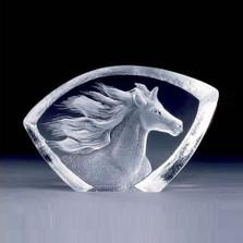 Mini Horse Crystal Sculpture   88146