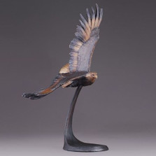 """Eagle Bronze Sculpture """"Wings of Freedom"""""""