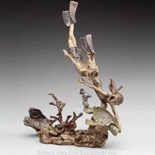 """Bronze Sculpture """"Summer Fun"""""""