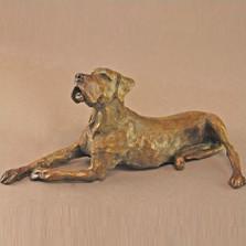 Dog Bronze Sculpture Great Dane II