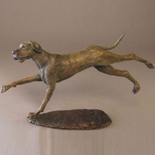 Dog Bronze Sculpture Great Dane
