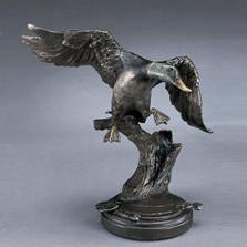 Mallard Bronze Sculpture