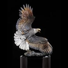 """Eagle Sculpture """"Windwalker"""""""