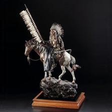 "Native American Sculpture ""On Wings of Eagles"" | Starlite Originals | SO3419"