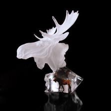 """Moose Sculpture """"Dominion"""""""