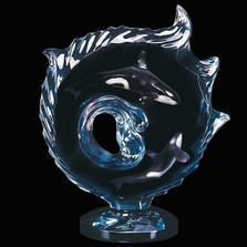 "Whale Sculpture Orca ""Encompassed"""