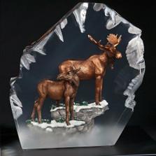 """Moose Sculpture """"Majesty"""""""