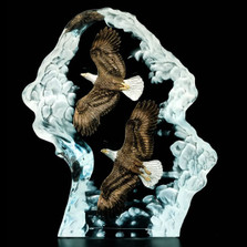 """Eagle Sculpture """"Achievement"""""""