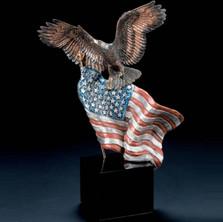 "Eagle Sculpture ""Reaching Higher"""