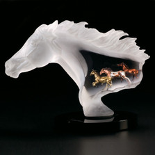 "Horse Sculpture ""Untamed Spirit"" 