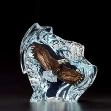 """Eagle Sculpture """"Strength and Honor"""""""