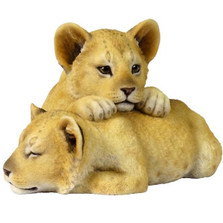 Lion Cubs Sculpture