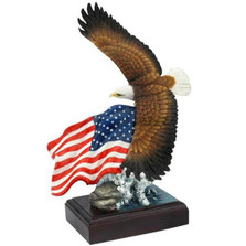 Bald Eagle Sculpture American Pride