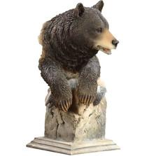 """Black Bear Sculpture """"Handful"""""""
