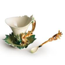 Giraffe Cup and Saucer | fz00450