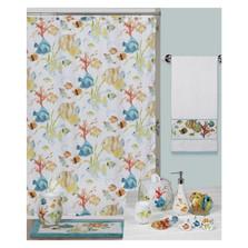 Rainbowfish Shower Curtain and Hooks Set