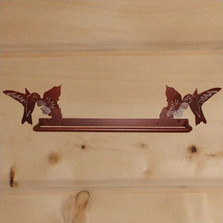 Hummingbird Towel Bar
