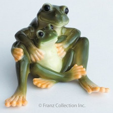 Frog Collection Mother & Daughter Figurine