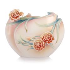 Carnation Porcelain Flat Vase | FZ00656