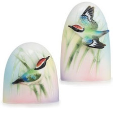 Bamboo Songbird Salt Pepper Shakers | FZ01692