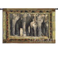 Among Family Elephant Wall Hanging