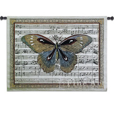Butterfly Dance I Tapestry Wall Hanging