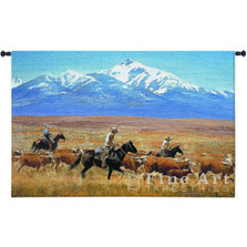Horse Tapestry Wall Hanging Homeward Bound