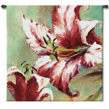 Blooming Lily Tapestry Wall Hanging