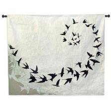 Bird Flight Tapestry Wall Hanging