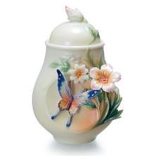 Fluttering Beauty Butterfly Sugar Jar | FZ02036