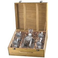 Dolphin Capitol Decanter Boxed Set